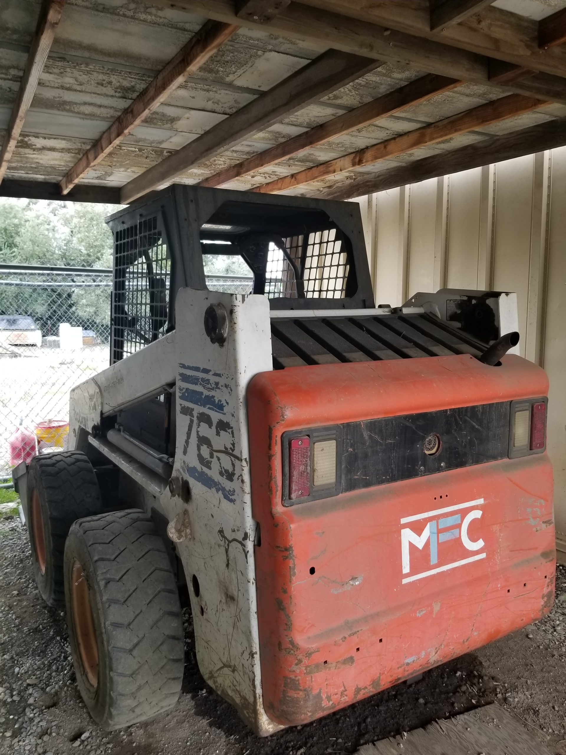 Mike's Fence Company - bobcat services